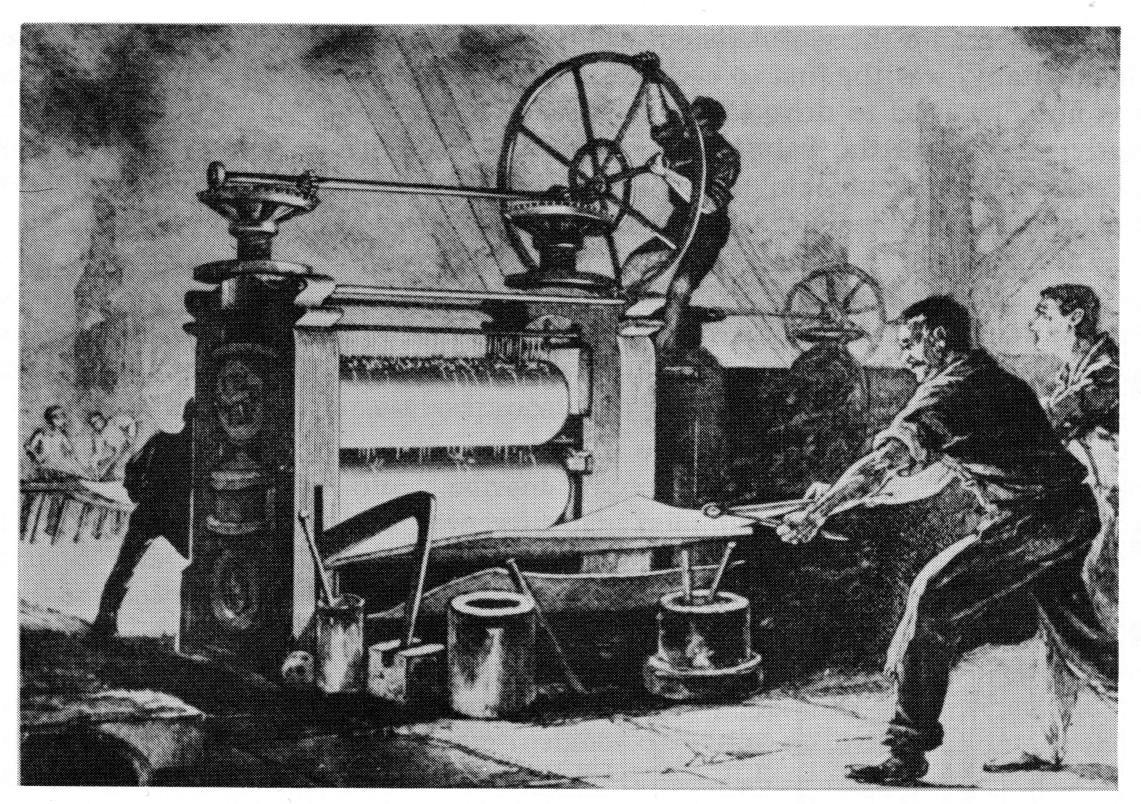 metal stamping history