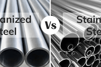 Galvanized vs stainless