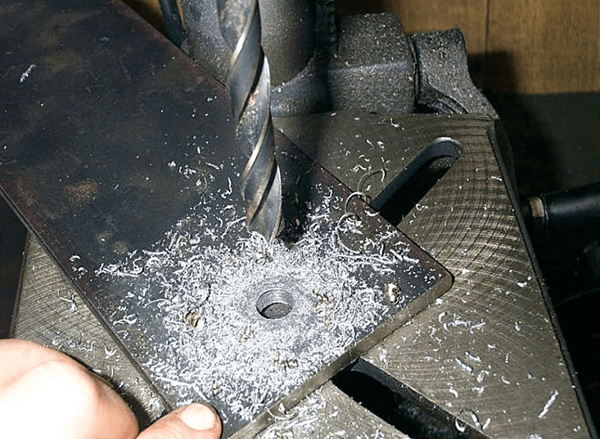 How to drill stainless steel step by step