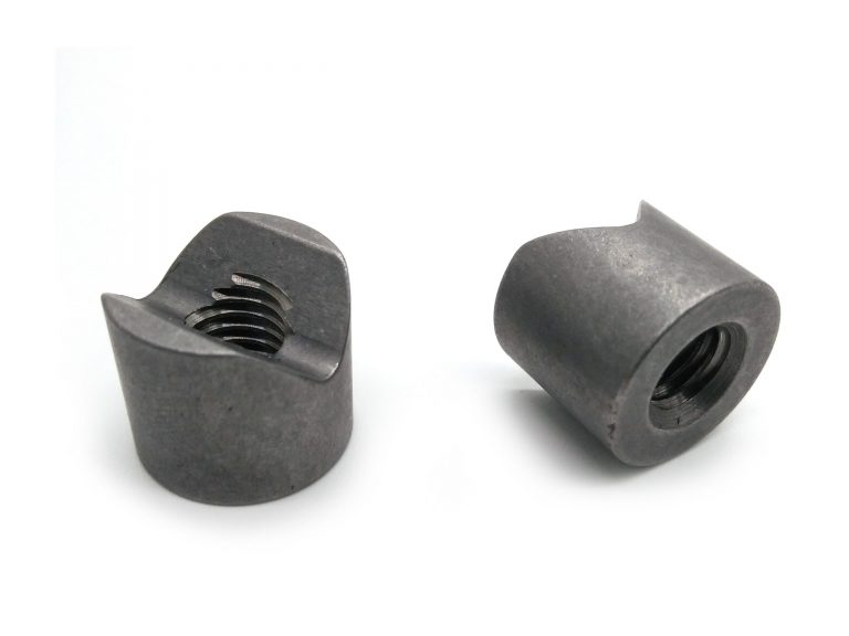 Carbon steel weld nuts