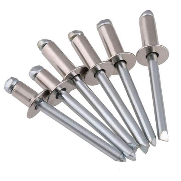 countersunk head blind rivets