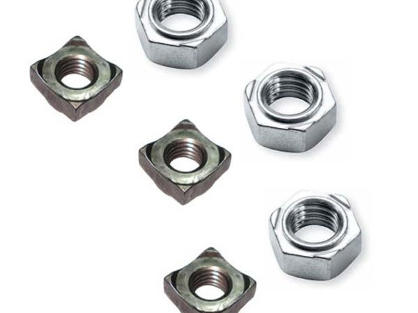 Hexagon weld nuts
