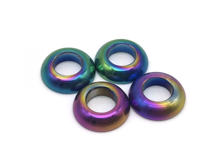 Colorful flat washers