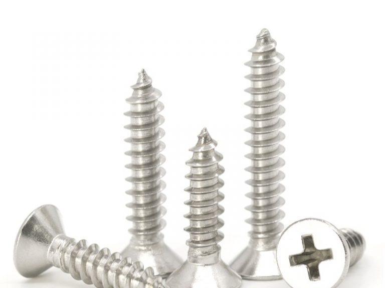 self tapping wood screws