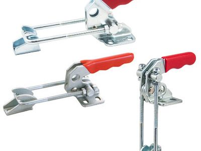 GH40840 galvanized latch type toggle clamps