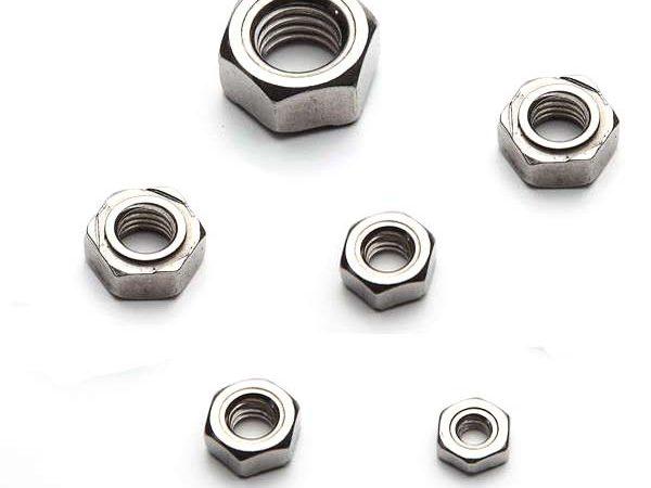 Hex weld nuts