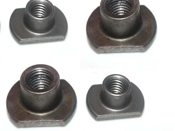 flanged weld nuts