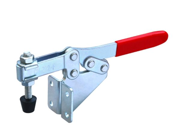 GH202F Steel plated zinc horizontal toggle clamps